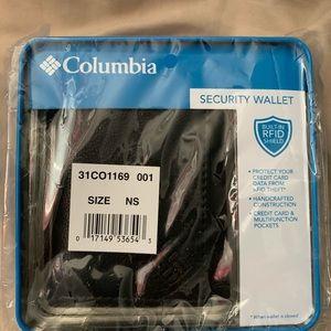 Brand new Columbia Men's wallet black